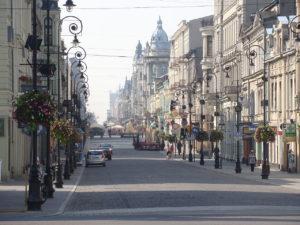 Ulica Piotrkowska in Łódź. Photo by MAx 92.