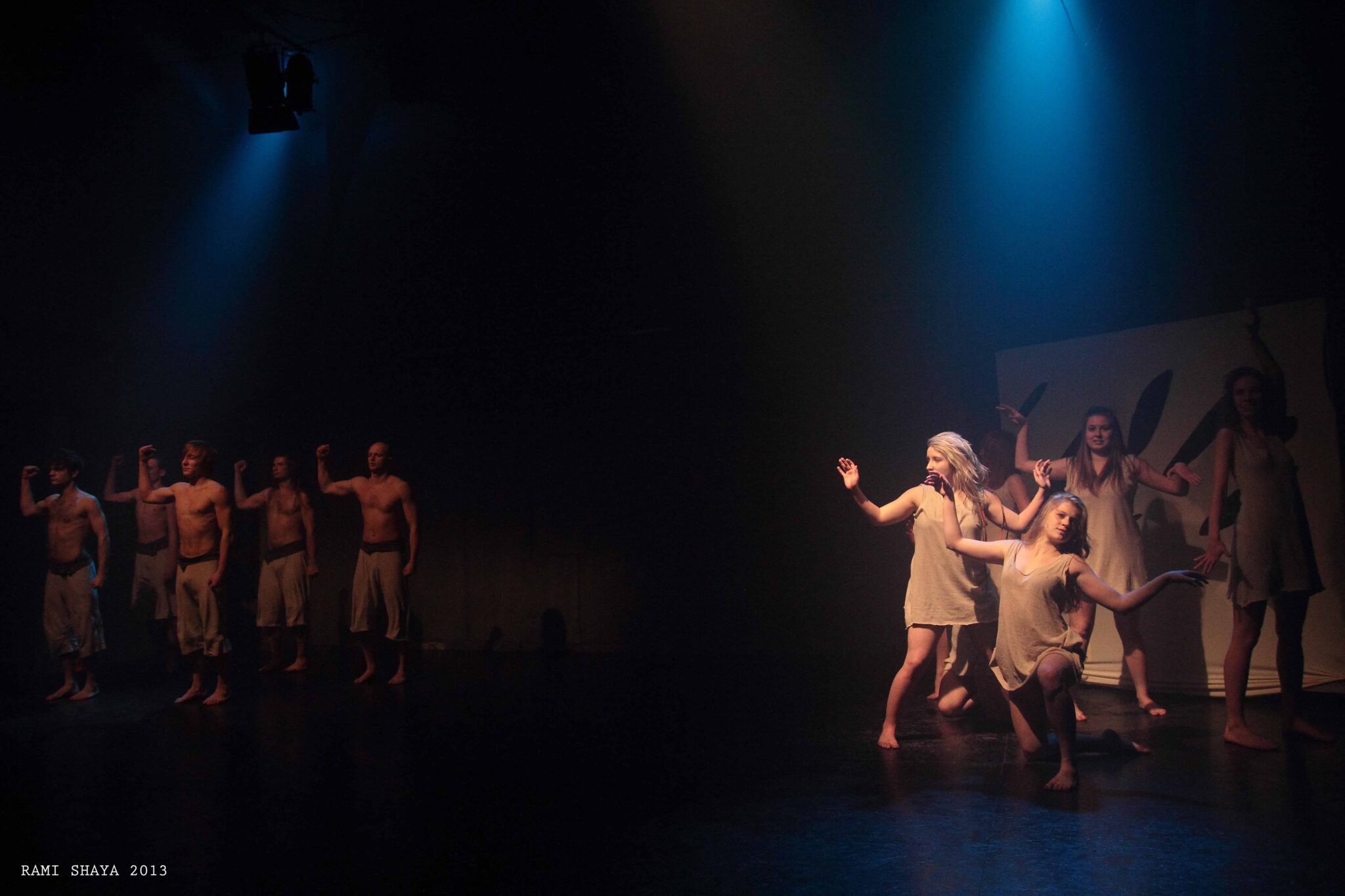 """Brzydal"" (2013) by Teatr Chorea (2013). Photo by Rami Shaya."