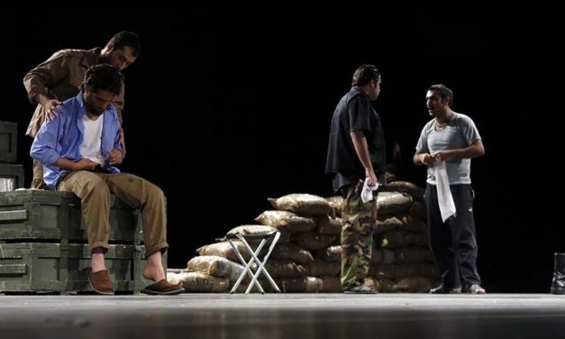 """The Whispers Behind the Battle Line"" Revived on the Tehran Stage"