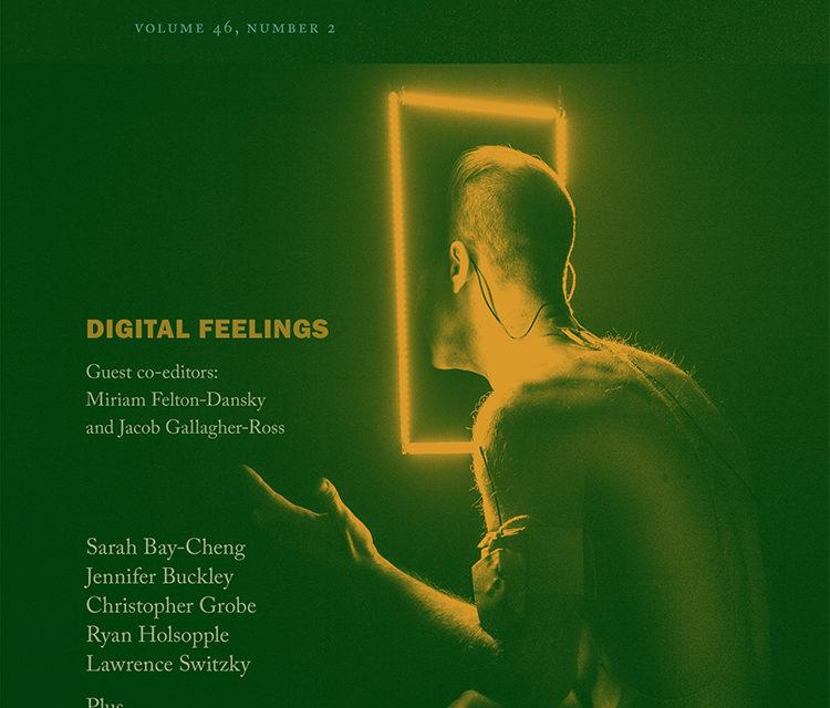 Digital Feelings Erupt in Theater