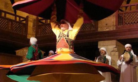 Egypt on Stage: Tanoura Folkloric Dance‏ and Sahar El Mougy's New Play