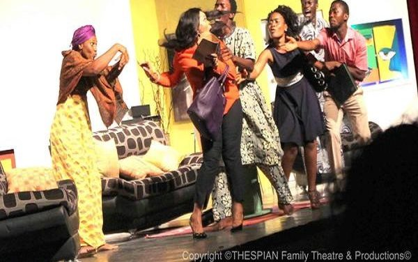 "Nigerian Theatre: Thespian Family Theatre's Production of Femi Osofisan's ""Altine's Wrath"""