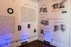 "HOBRA - A Holland-Brazil artistic exchange project. The word ""obra"" means ""work"" in Portuguese, as in ""work of art""."