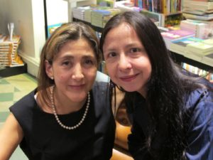Ingrid Betancourt and Carolina Virgüez in November 2009. Photoby Correio Braziliense.