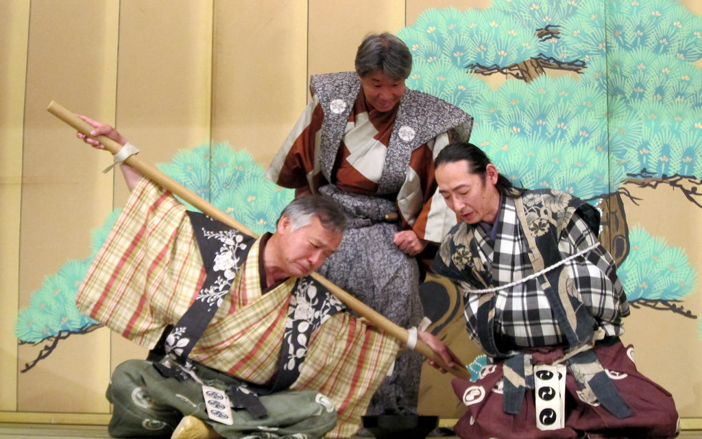Kyôgen Comedies' Embedded Dramaturgy: 13 Lessons for Theater Practitioners