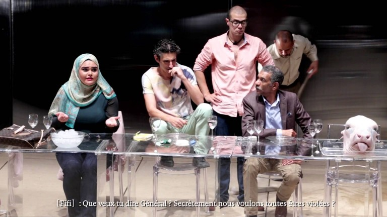 Ahmed El-Attar's The Last Supper. Photo credit Mostafa Abdel Aty Légende
