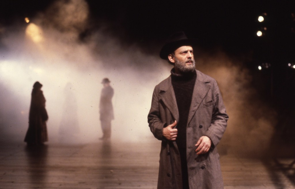 Peer Gynt by Ibsen at the Guthrie Theater (1983). Director: Liviu Ciulei. Dramaturg: Mark Bly. Credit: Gerry Bamman (as Peer Gynt). Photo credit: Joe Giannetti.