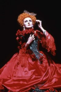 Caroline Lagerfelt as Arsinoe in The Misanthrope, Guthrie Theater, 1987. Director: Garland Wright. Dramaturg: Mark Bly. Photo: courtesy of the Guthrie Theater.