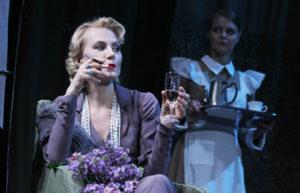 Renata Litvinova as Lyubov Rayevskaya, The Cherry Orchard. Source: Yekaterina Tsvetkova / press photo