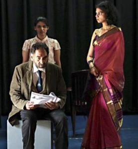 Nilanjan P Choudhury's The Square Root of a Sonnet. Press photo
