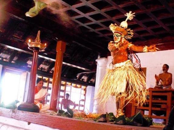 """Mantrankam"" A 41-day Sanskrit Play Reopened in Kerala"