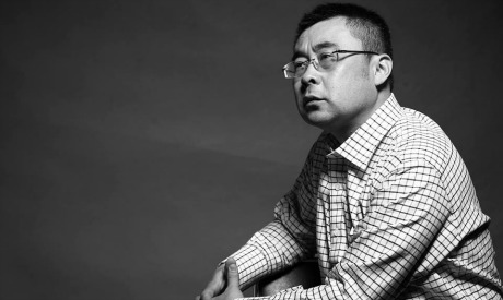 Professor Lu Ang, dean of directing department at Shanghai Theatre Academy, and Vice Chairman of Shanghai Theatre Association. (Photo: Courtesy of Cairo International Festival for Contemporary and Experimental Theatre)