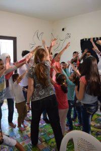 Dyane Stillman's Ensemble Workshop. Photo credit Haytham Chamass