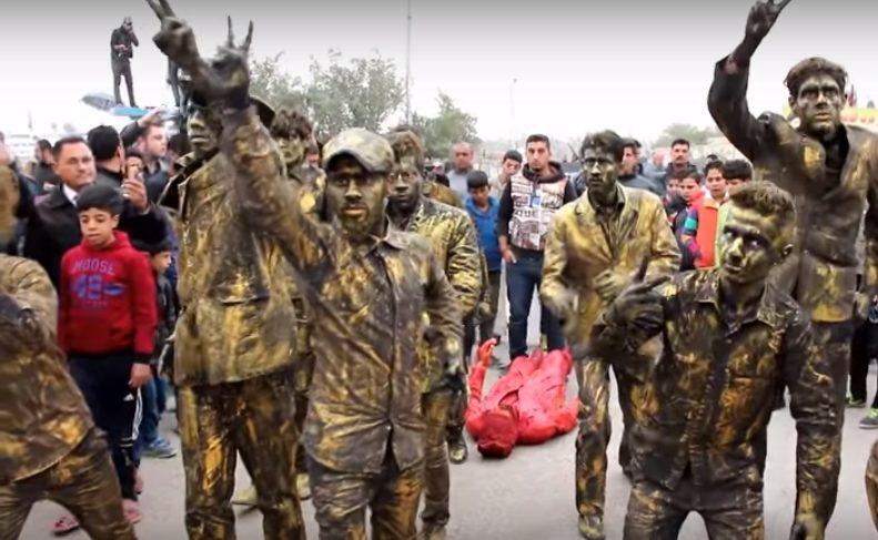Young Baghdad Actors Explore Iraq's Problems