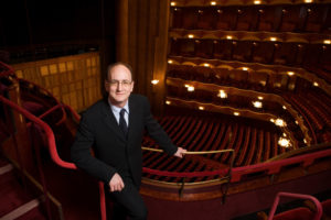 Peter Gelb, General Manager of The Metropolitan Opera, in the opera house auditorium. Photo: Dario Acosta/Metropolitan Opera