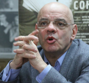 "Speaking about recent controversies and rising government pressure on Russian artists, Konstantin Raikin warned ""These are completely lawless, extremist, arrogant, aggressive acts hiding behind words about morality, principles, and other generally righteous and lofty terms."" Photo credit V.G. Zimin. Creative Commons"