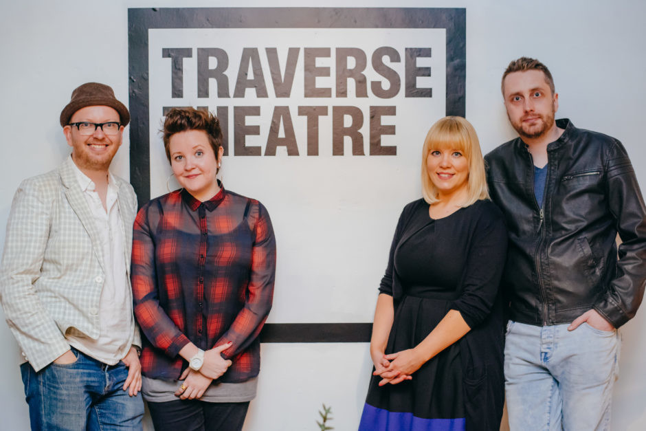 The Traverse Theatre's Associate Artists are paving the way for new writers (Photo credit: Mihaela Bodlovic / Traverse Theatre)