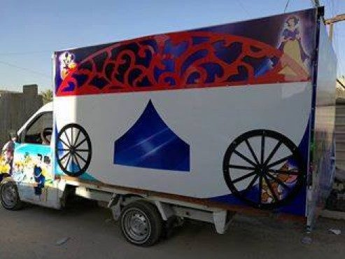 Iraqi Actor Brings Theatre To Kids In A Converted Truck