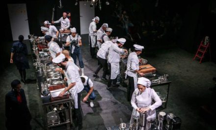 "Life Is a Kitchen: A Review of the Iranian Adaptation of Arnold Wesker's ""The Kitchen"""
