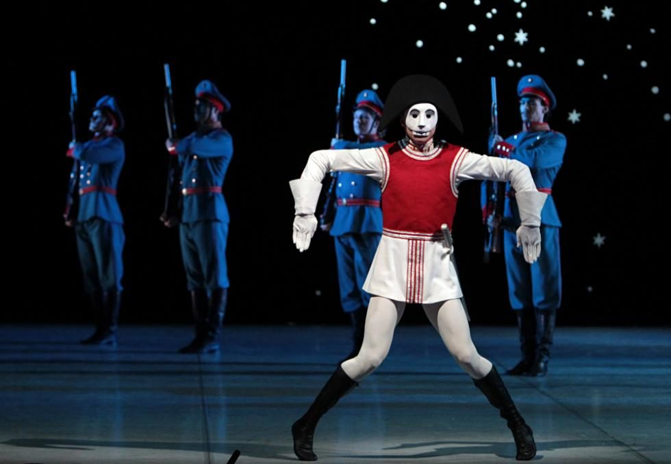 """Dancer Leonid Sarafanov as the Nutcracker"""