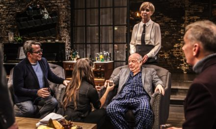 "Death on the Rialto: Wallace Shawn's ""Evening at the Talk House"""