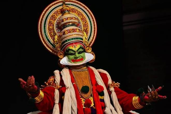 Innovative Kathakali Artists Take the Stage in Palakkad