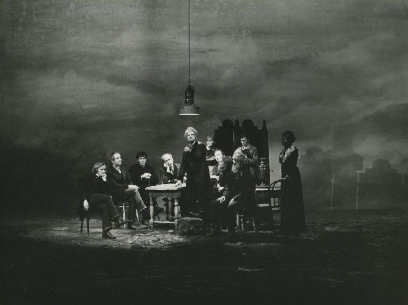 The Possessed (Biesy), dir. Andrzej Wajda; Stary Teatr, Kraków, 1971. Photo credit: Wojciech Plewiński