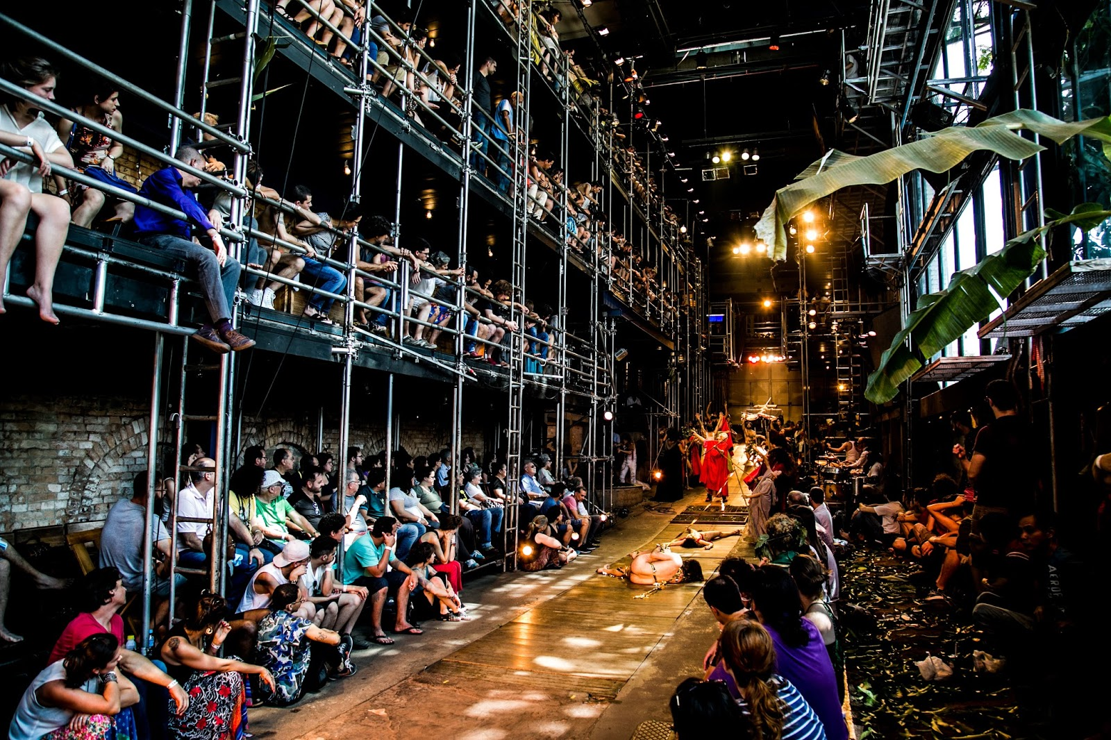 "Bacantes"" (The Bacchae) In The Best Theater In the World 