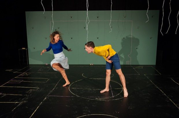 "Gytha Parmentier and Roman Van Houtven in ""Us/Them"" Photo creds Murdo Macleod"