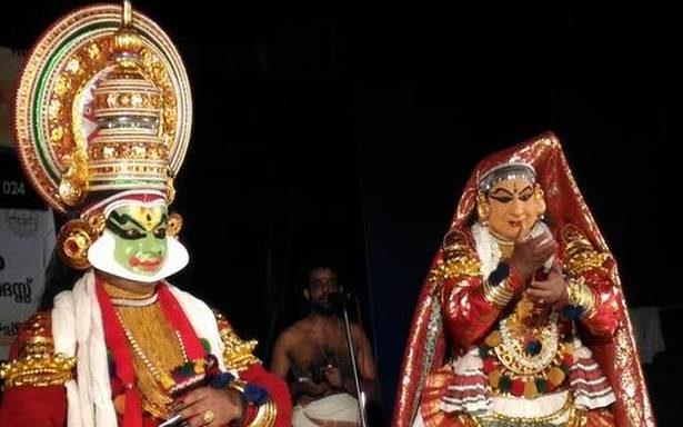 Enthralling Spectrum of Visual and Aural Artistry: The Kamineeyakam Kathakali Festival