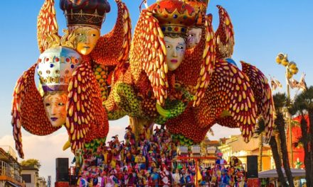 The Gigantic Float Parades for the Carnival of Viareggio