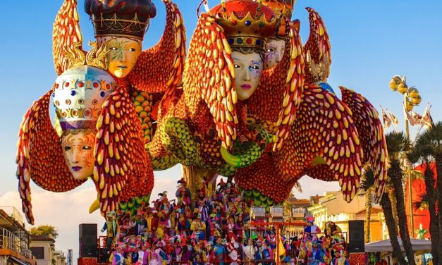 The Gigantic Float Parades for the Carnival of Viareggio