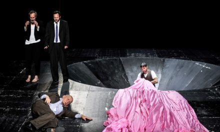 "Deutsches Theater's ""Waiting for Godot"" at World Theatre in Sofia 2016"