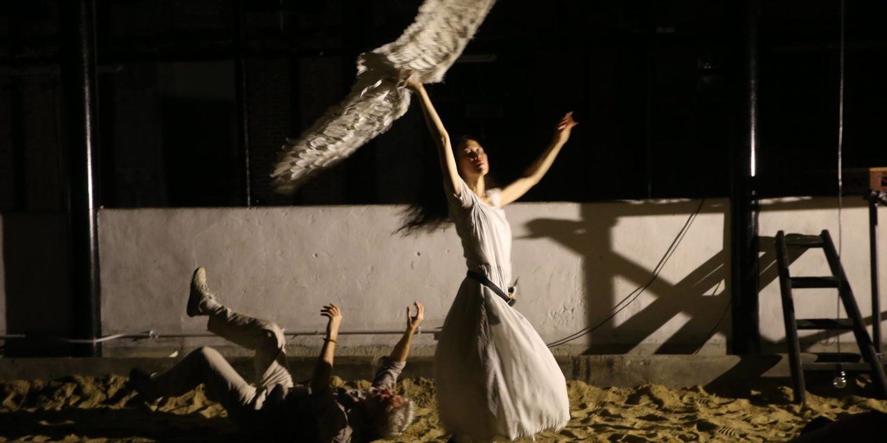 "Theatre du Pif's ""The Oedipus Project"" Experimentally Explores Seneca's ""Oedipus"" at Cattle Depot in Hong Kong Through Ted Hughes' Words."
