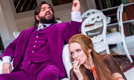 """The Philanthropist"" at London's Trafalgar Studios"