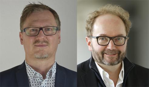 Gerald Siegmund and Nikolaus Müller-Schöll | Photo Credits Justus-Liebig-Universität Gießen