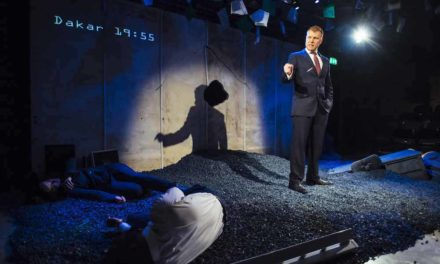 """The Pulverised"" at the Arcola Theatre"