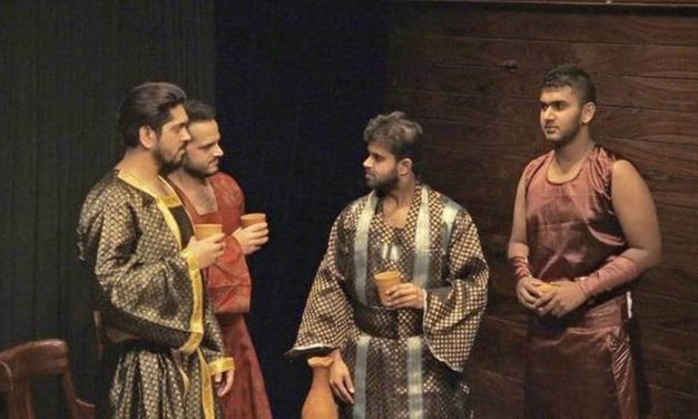 "The Economics of War in ""The Spartan Conspiracy"" at Akshara Theatre"