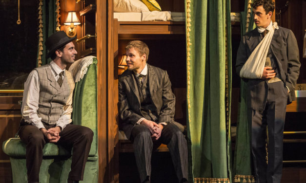 """A Question of Comedy in Rajiv Joseph's """"Archduke"""" at the Mark Taper Forum"""