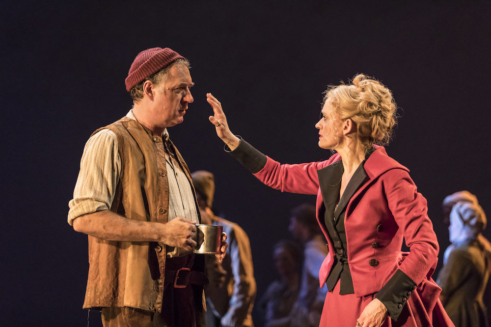 """Brian Doherty and Anne-Marie Duff in """"Common"""" 