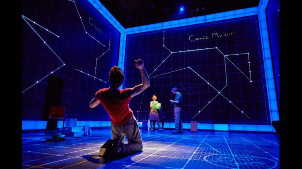 """The Curious Incident of the Dog in the Night-Time"" at Apollo Theatre"