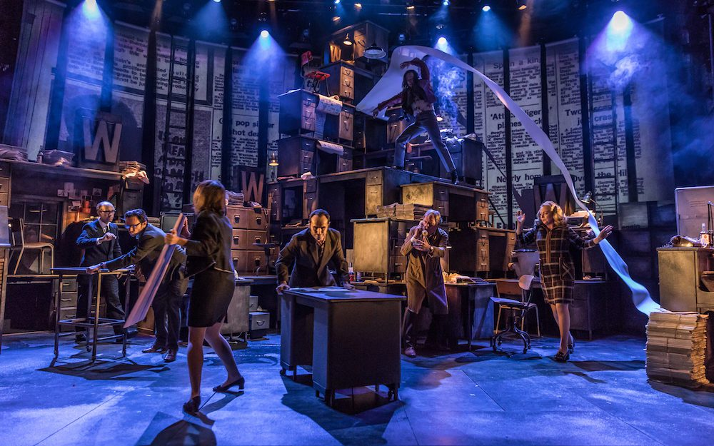 """""""Ink"""" – Rupert Murdoch's Tale of Success and Scandal, Now Playing at Almeida Theatre"""