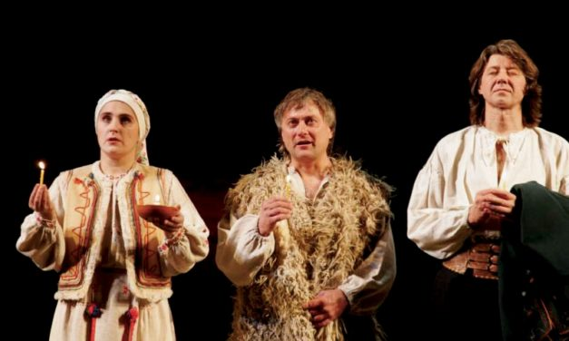 New Theatre in Ukraine: Rattle, Break, and Creation