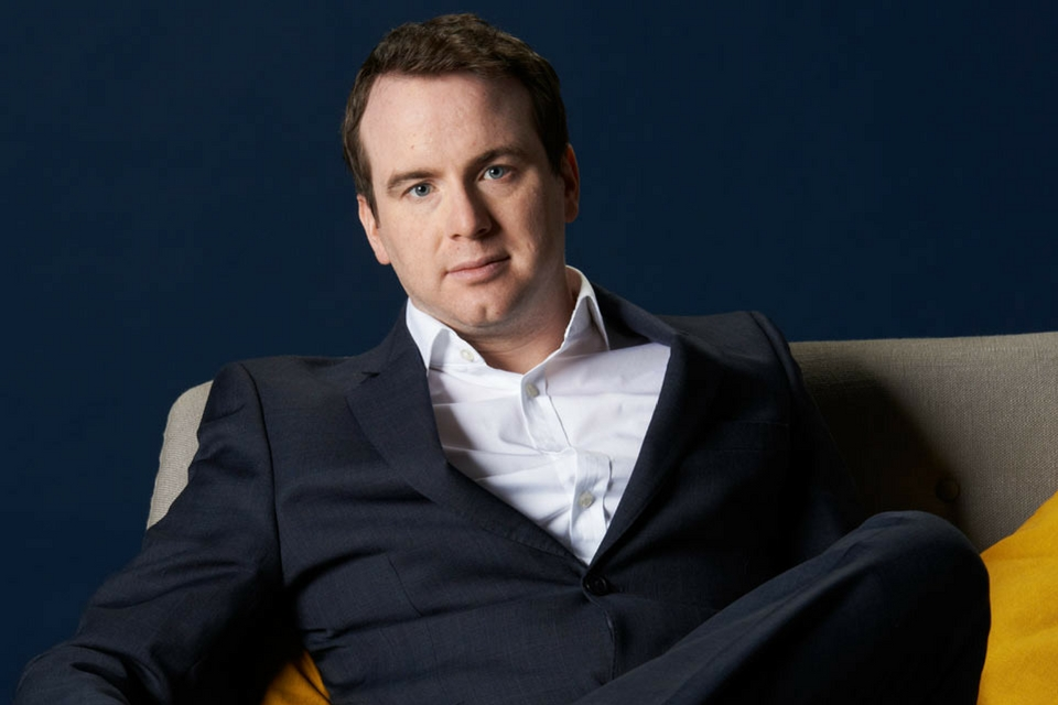 Matt Forde is known for his political-themed comedy |Photo Credits Dave Brown