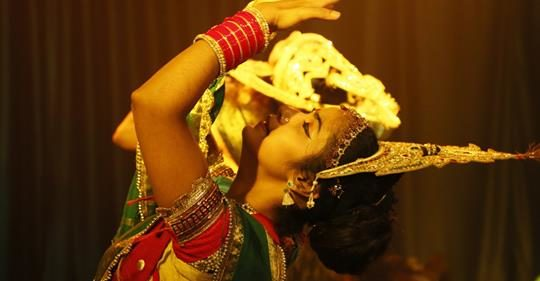 """Ram ki Shakti Puja:"" The Drama of Devotion and Justice"
