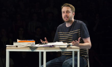 "Rob Drummond's New Solo Show About Democracy – ""The Majority"" at The National Theatre"