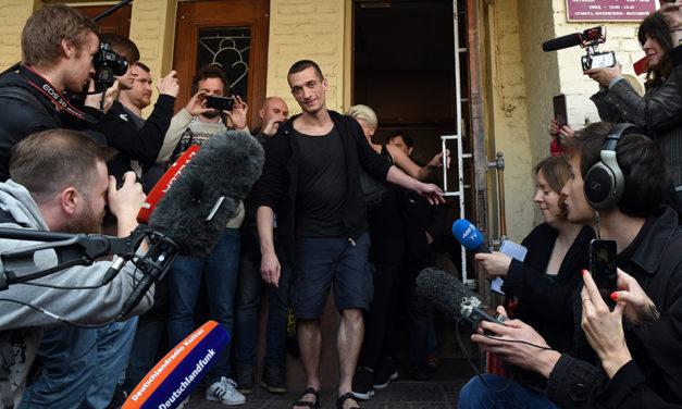 News: Russia Frees Pyotr Pavlensky