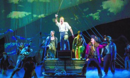 """Billy Harrigan Tighe Brings Life to The Man Behind Peter Pan in The Play """"Finding Neverland"""""""
