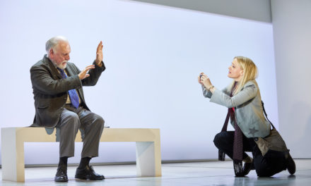 """Heisenberg: The Uncertainty Principle"" at Wyndham's Theatre"