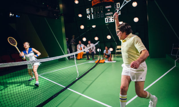"A Life Of Footlights And Forehands: Nostalgia Takes The Court In ""Balls"" and ""Battle Of the Sexes"""